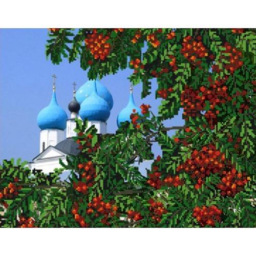 """Канва/ткань с нанесенным рисунком Конёк """"Рябина"""""""