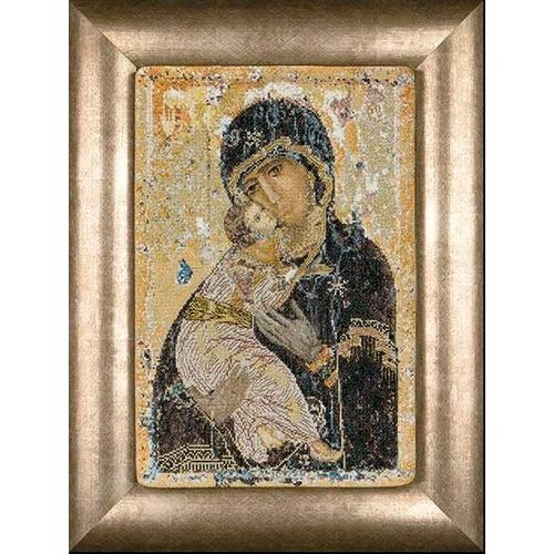 """Набор для вышивания крестом Thea Gouverneur """"Владимирская икона Божией Матери"""""""