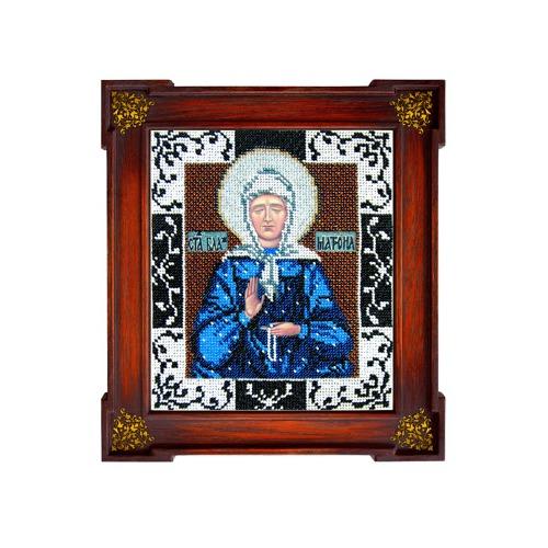 """Набор для вышивания бисером Вышиваем бисером """"Матрона Московская"""""""