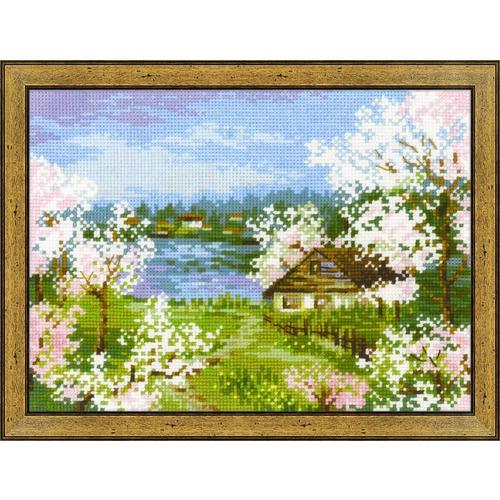"""Набор для вышивания крестом Риолис """"Яблони в цвету"""""""