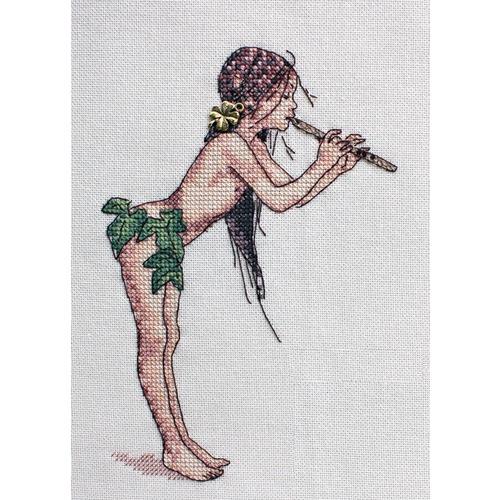 """Набор для вышивания крестом NeoCraft """"Волшебная флейта"""""""