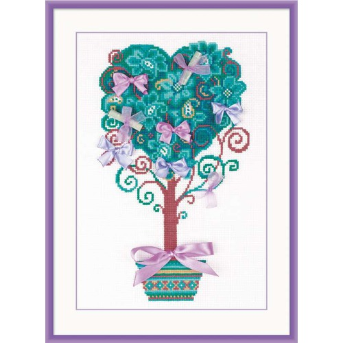 """Набор для вышивания крестом Риолис """"Дерево желаний"""""""