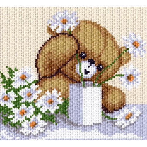 """Канва/ткань с нанесенным рисунком Матрёнин посад """"Цветы для мамы"""""""