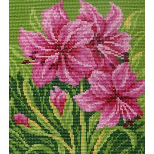 "Канва/ткань с нанесенным рисунком Матрёнин посад ""Цветы"""