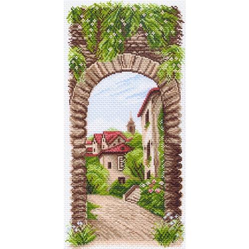 """Канва/ткань с нанесенным рисунком Матрёнин посад """"Уютное местечко"""""""