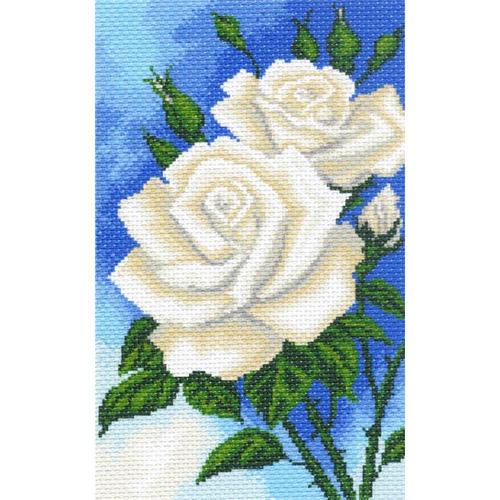 "Канва/ткань с нанесенным рисунком Матрёнин посад ""Розочки"""