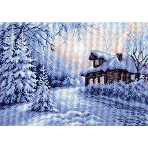 "Канва/ткань с нанесенным рисунком Матрёнин посад ""Мороз"""