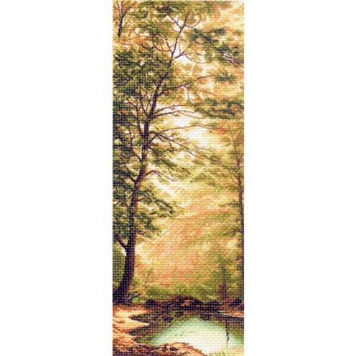 """Канва/ткань с нанесенным рисунком Матрёнин посад """"Дыхание осени"""""""