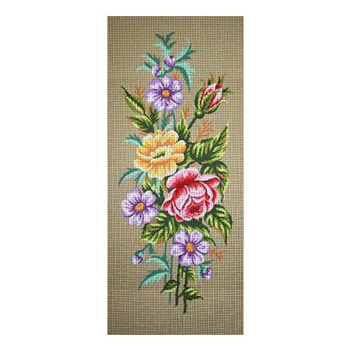 """Канва/ткань с нанесенным рисунком Gobelin-L """"Розы и анемоны"""""""
