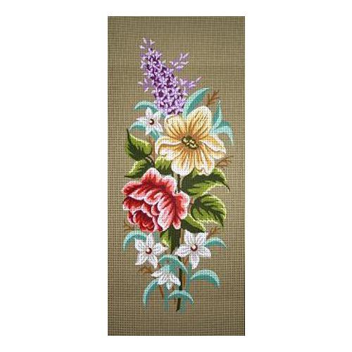 """Канва/ткань с нанесенным рисунком Gobelin-L """"Весенние цветы"""""""