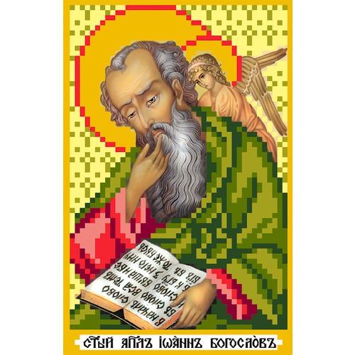 """Канва/ткань с нанесенным рисунком Матрёнин посад """"Святой Иоанн Богослов"""""""
