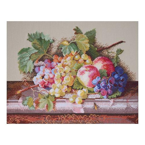"""Набор для вышивания крестом Марья искусница """"Натюрморт с персиками"""""""