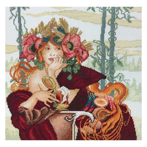 """Набор для вышивания крестом Марья искусница """"Красавица Осень"""""""