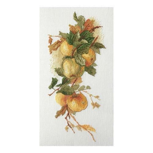 """Набор для вышивания крестом Марья искусница """"Аромат яблок"""""""