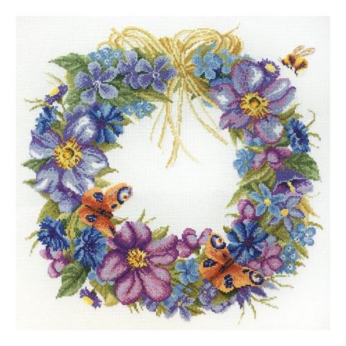 """Набор для вышивания крестом Марья искусница """"Цветы лета"""""""