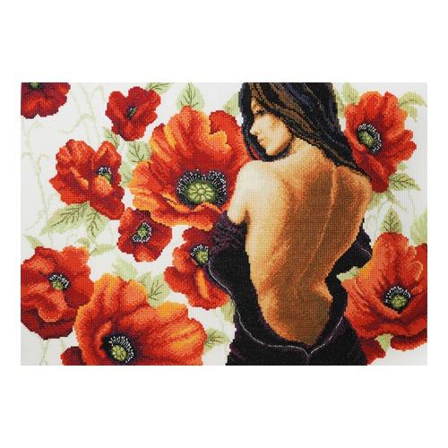 """Набор для вышивания крестом Марья искусница """"Пора цветения"""""""