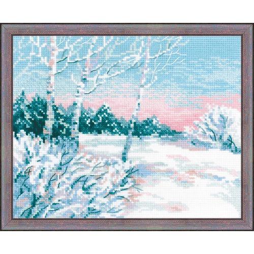 """Набор для вышивания крестом Риолис """"Зимнее утро"""""""