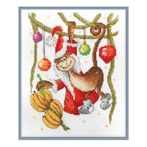 """Набор для вышивания крестом Машенька """"Новогоднее лакомство"""""""