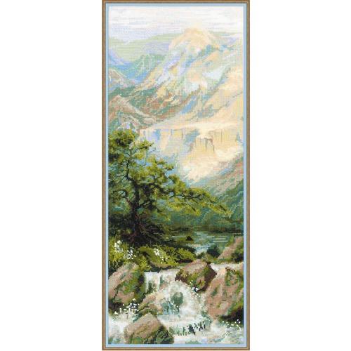 """Набор для вышивания крестом Риолис """"Горная река"""""""