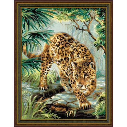 """Набор для вышивания крестом Риолис """"Хозяин джунглей"""""""