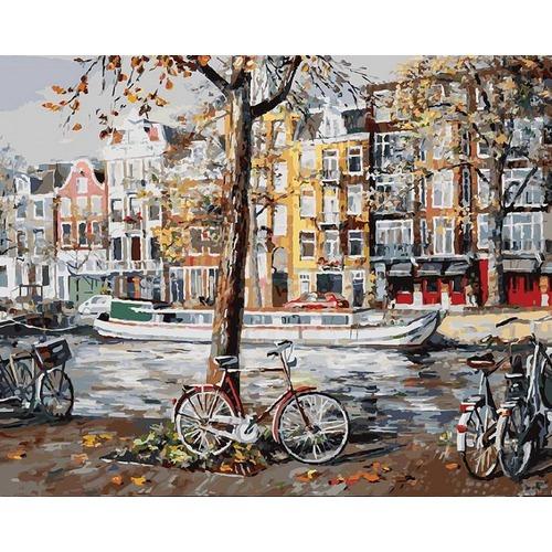 """Набор для раскрашивания Белоснежка """"Осенний Амстердам"""""""