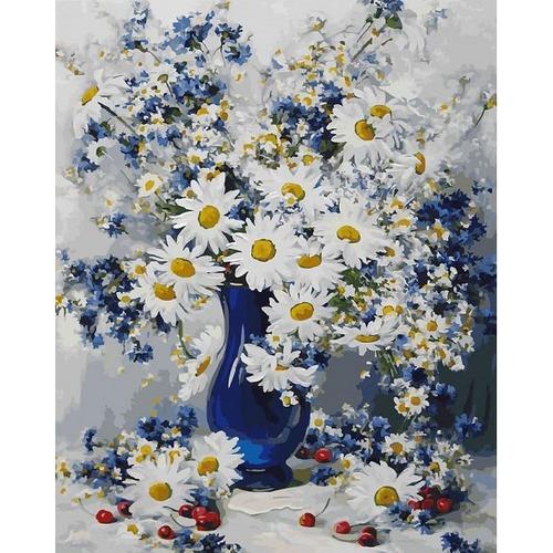 """Набор для раскрашивания Белоснежка """"Любимые цветы"""""""