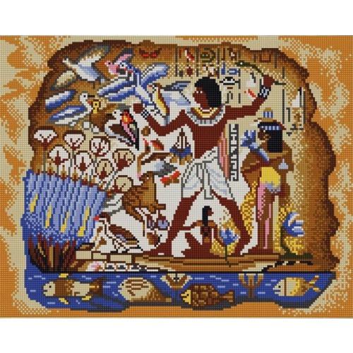 """Канва/ткань с нанесенным рисунком Конёк """"Египетская"""""""