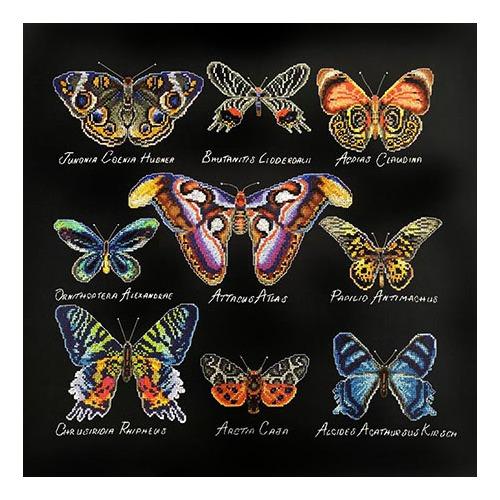 """Набор для вышивания крестом Марья искусница """"Бабочки"""""""