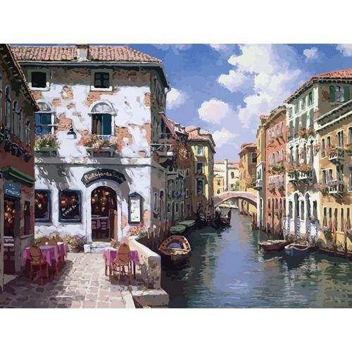 """Набор для раскрашивания Белоснежка """"Венецианские дома"""""""