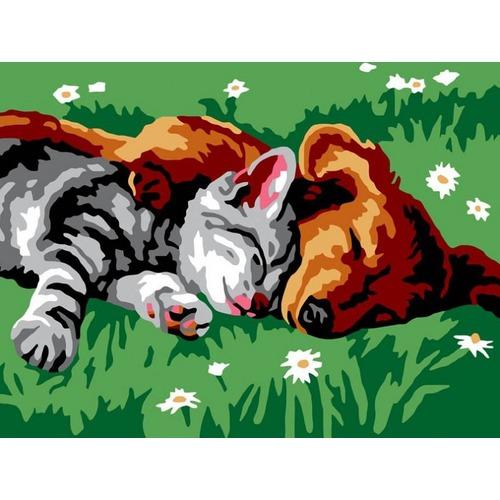 """Набор для раскрашивания Белоснежка """"Котенок и щенок"""""""