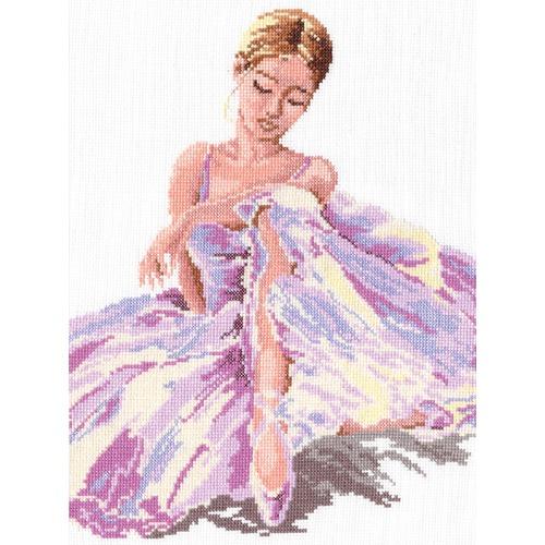 """Набор для вышивания крестом Чудесная игла """"Балерина"""""""