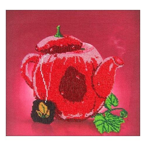 """Набор для вышивания бисером Глурия (Астрея) """"Горячий чай"""""""