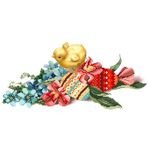 """Канва/ткань с нанесенным рисунком Матрёнин посад """"Светлый праздник"""""""