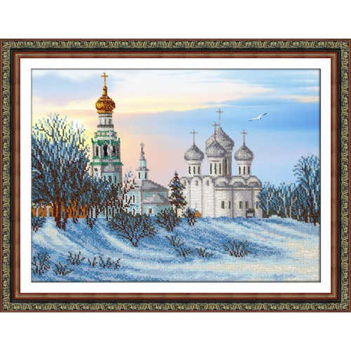 """Набор для вышивания бисером Паутинка """"Вологда"""""""