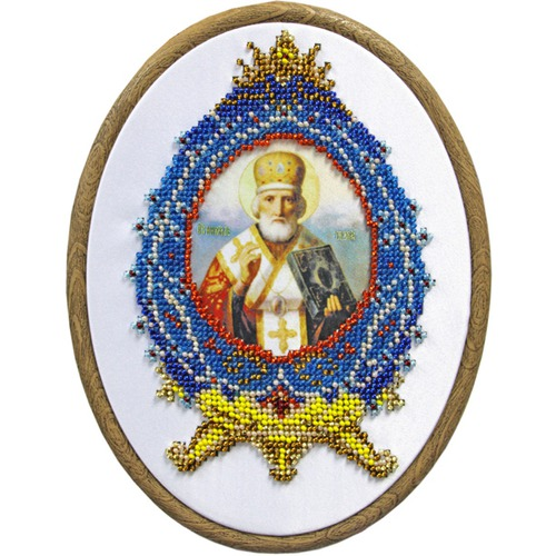 "Набор для вышивания бисером Матрёнин посад ""Николай Чудотворец"""