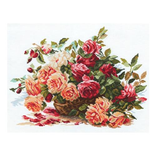 """Набор для вышивания крестом Алиса """"Розы"""""""