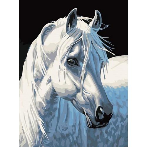 """Набор для раскрашивания Белоснежка """"Белая лошадь"""""""