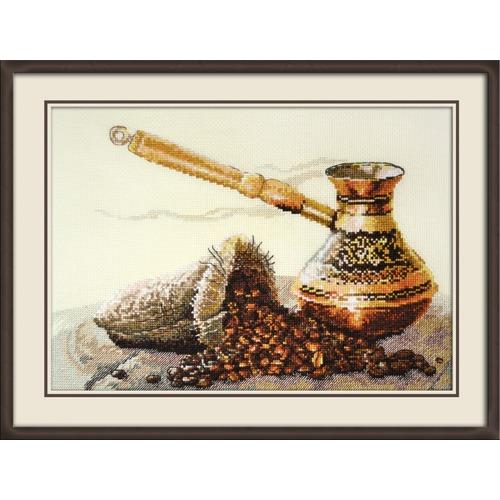 """Набор для вышивания крестом Овен """"Запах кофе"""""""