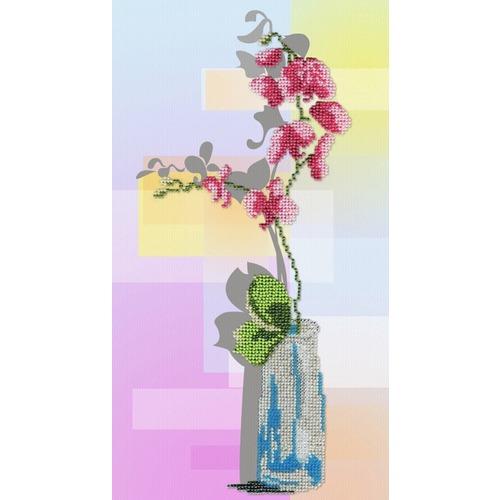 """Набор для вышивания бисером М.П. Студия """"Орхидея"""""""