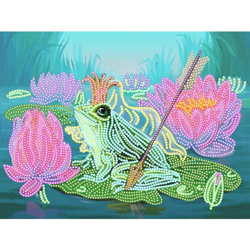 """Канва/ткань с нанесенным рисунком Матрёнин посад """"Царевна-лягушка"""""""