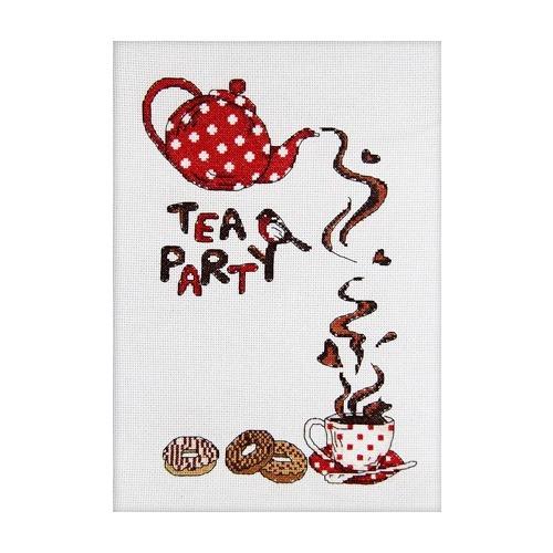 """Набор для вышивания крестом Глурия (Астрея) """"Чайная вечеринка"""""""