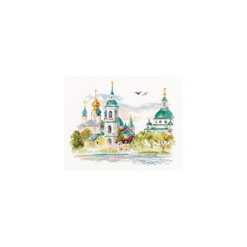 """Набор для вышивания крестом Алиса """"Ростов Великий. Спасо-Яковлевский монастырь"""""""