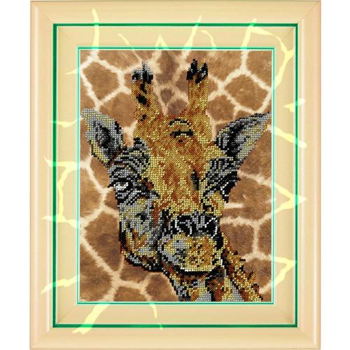 """Набор для вышивания бисером Вышиваем бисером """"Жираф"""""""