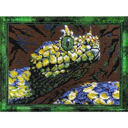 """Набор для вышивания бисером Вышиваем бисером """"Змея"""""""
