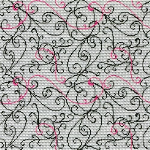 "Канва/ткань с нанесенным рисунком Матрёнин посад ""Паутинка"""