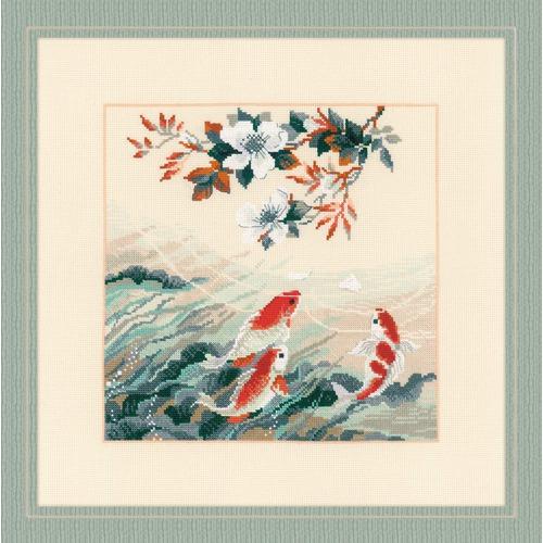 """Набор для вышивания крестом Риолис """"Танцующие рыбки"""""""