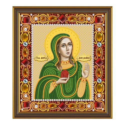 """Набор для вышивания бисером Nova sloboda """"Св. Равноап. Мария Магдалина"""""""