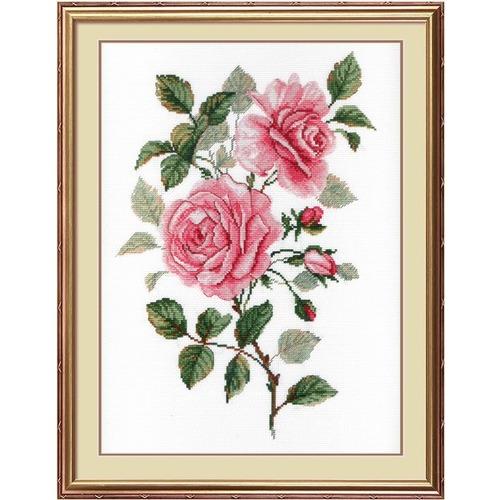 """Набор для вышивания крестом М.П. Студия """"Садовые розы"""""""
