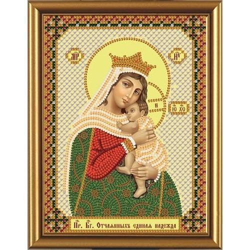 """Набор для вышивания бисером Nova sloboda """"Богородица «Отчаянных единая надежда»"""""""