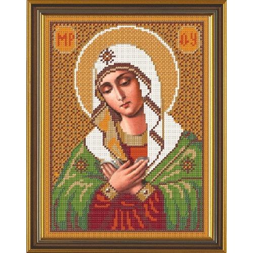 """Набор для вышивания бисером Nova sloboda """"Богородица «Умиление»"""""""